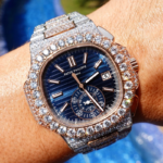 patek philippe nautilus iced out