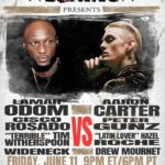 Lamar Odom vs Aaron Carter live stream announced – Celebrity Boxing on June 11, PPV price