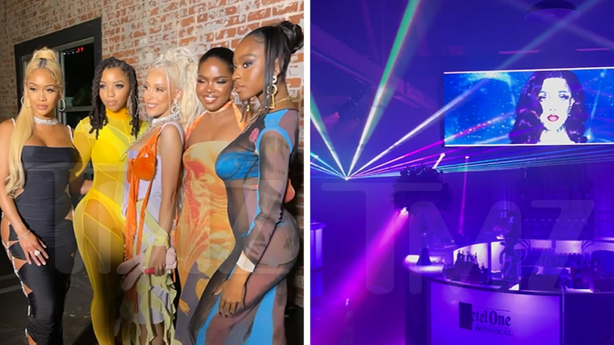Doja Cat's Album Release Party Brings 'Planet Her' to Hollywood