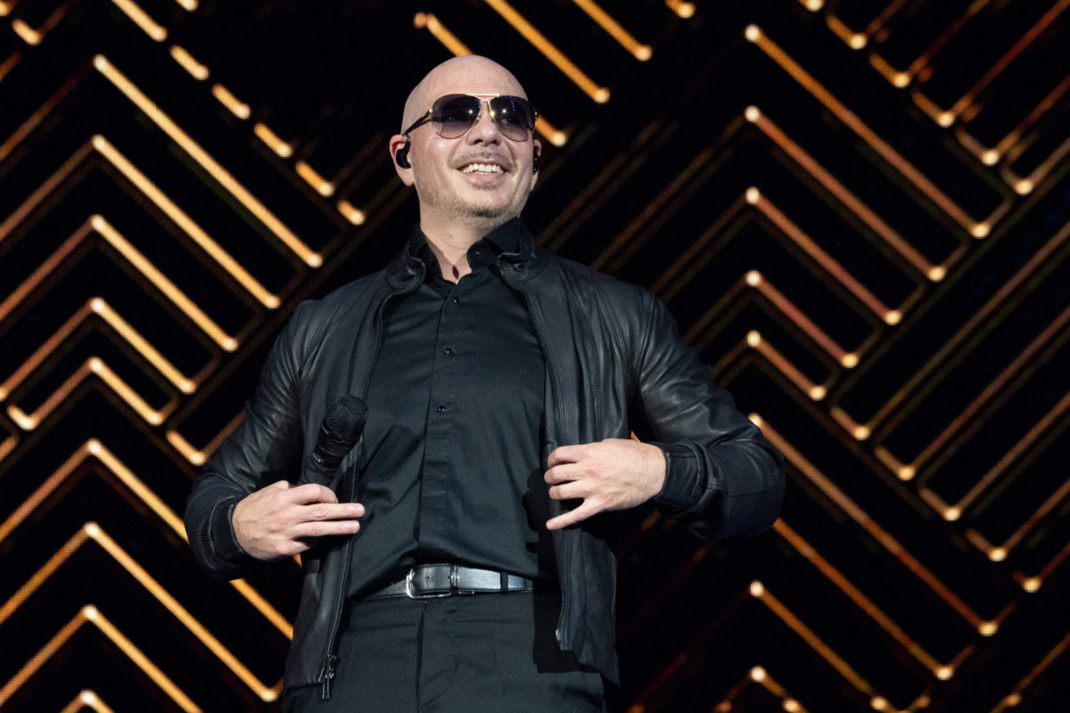 Pitbull Says 'F*** You' to America Critics During Concert
